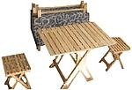 Мебель раскладная из натурального дуба