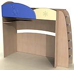 Кровать с лестницей ДК-12