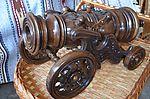 Сувенир деревянная пушка