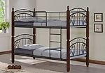 Кровать двухъярусная кованная, железная Софи ДД (DD Sofi)